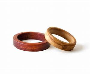 wooden wedding bands wooden rings set weeding rings set his With wooden wedding ring sets