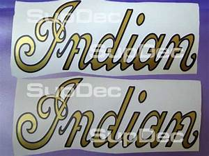 indian motorcycle gold script gas tank 2 decals With kitchen cabinets lowes with motorcycle gas tank stickers