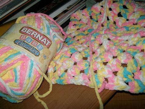 Bernat Baby Blanket Yarn Colors Crochet Stroller Blanket Japanese Futon Sports Team Blankets Vintage Baby Knitting Patterns Knot A Breakfast Sausage In Hot Tub Solar No Sew Fleece Size