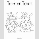 Trick Or Treat Bag Coloring Pages | 685 x 886 png 155kB