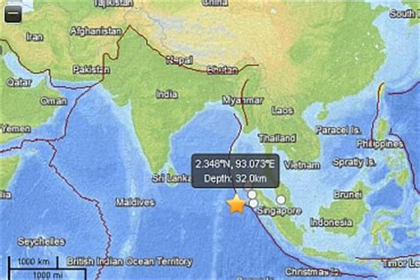 massive quake rattles indonesia tremors  india