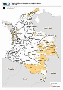 Colombia: Resguardos y Grupos Indígenas y Títulos Afro