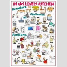Kitchen Picture Dictionary#1  English  Learn English, English Vocabulary Y English Lessons