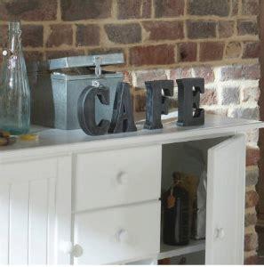 lettre cuisine deco tendance déco lettres décoratives mag maison