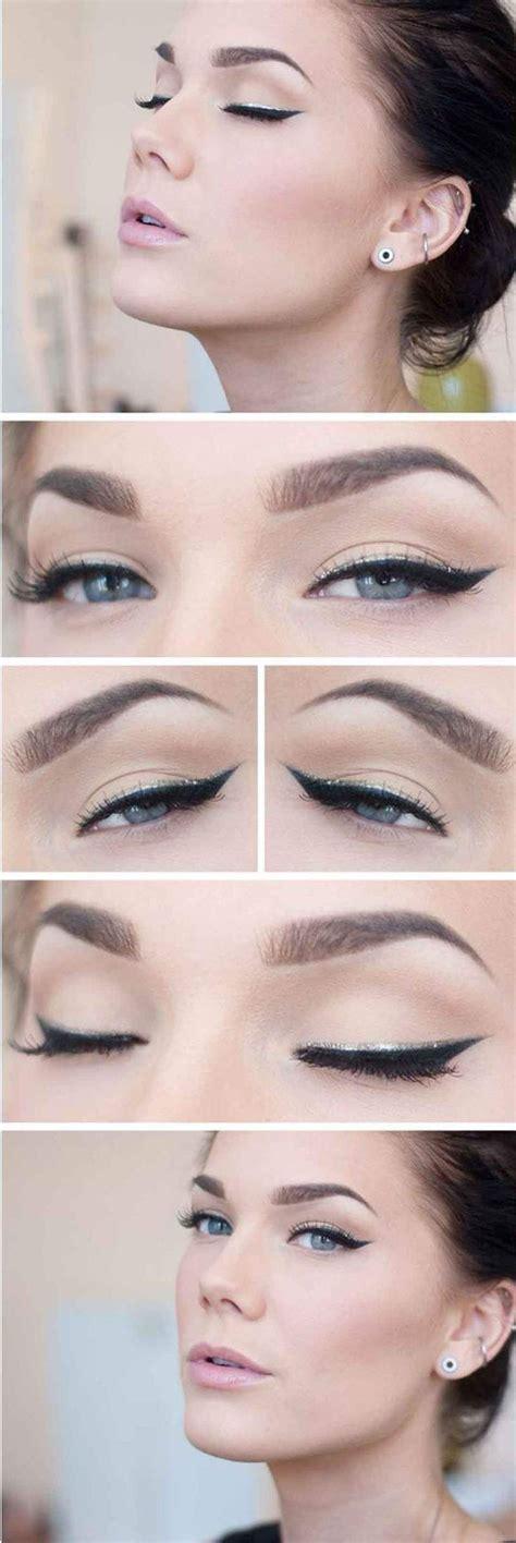 Maquillaje Natural con Delineado Paso A Paso #