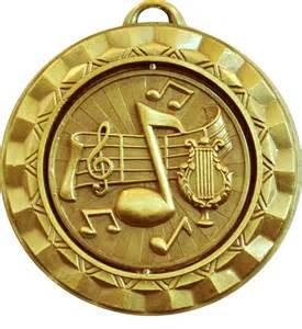 Gold Music Award Medals