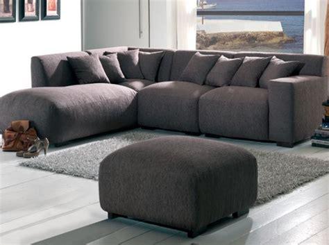 canapé d 39 angle marron ultra moelleux salon living room