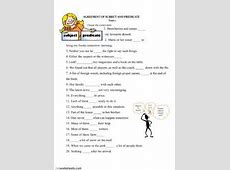 English Exercises subject verb agreement