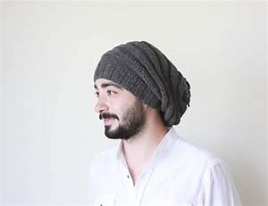 EXPRESS SHIPPING Men knit hat Winter hat for men by SENNURSASA