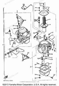 Yamaha Motorcycle 1982 Oem Parts Diagram For Carburetor