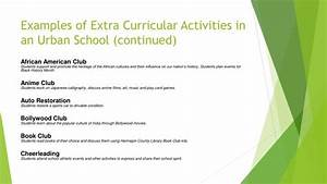 Ppt - Extra Curricular Activities Powerpoint Presentation