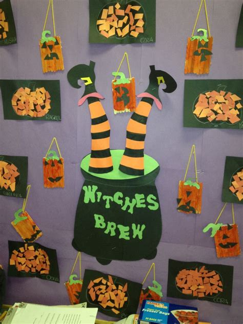 63 best bulletin boards images on classroom 864   714ee30028ea04ab30fdb6ded964203e preschool halloween halloween witches