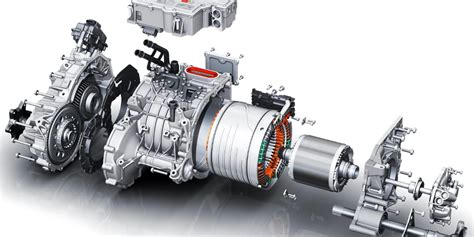Electric Motor Power by Borgwarner To Supply Electric Motors For In Hybrid Truck