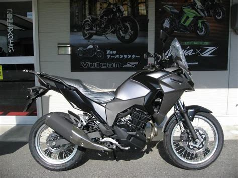 Kawasaki Versys X 250 Picture by Kawasaki Versys X 250 New Bike Silver Black Km