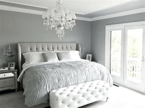 Small Grey And White Bedroom
