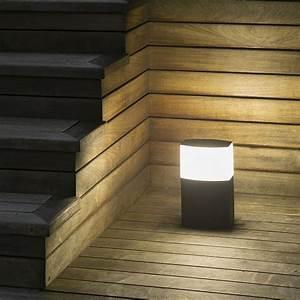 Borne Luminaire Extérieur : borne potelet ext rieur datna e27 ip44 74441 faro ~ Teatrodelosmanantiales.com Idées de Décoration