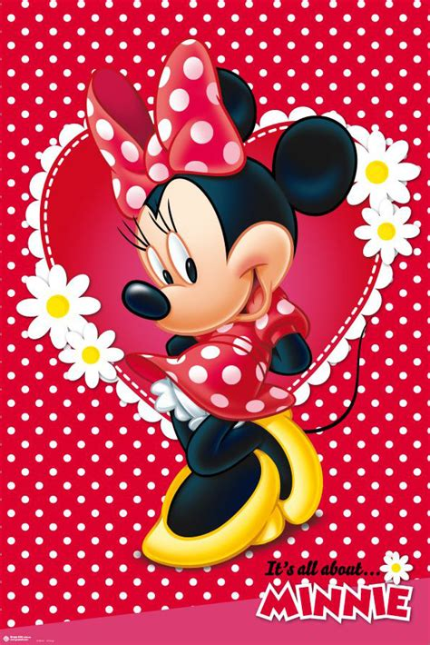 minnie mouse disney poster print mickey mouse size
