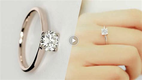 latest simple engagement ring designs 2017 asnie youtube