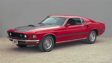 1966 Ford Mustang Mach I Concept Front Hd Wallpaper 3
