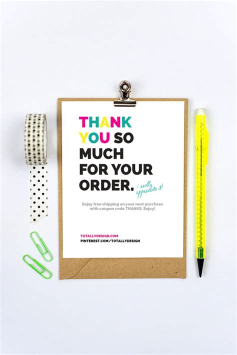 thank you card template maker business thank you cards instant brightly bold