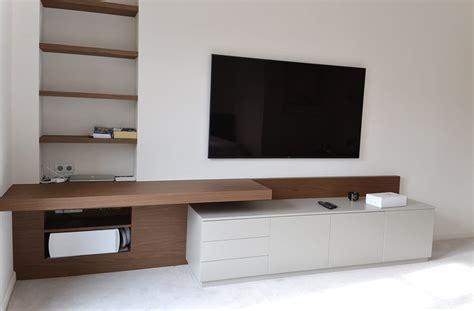 bureau meuble tv aménagement sur mesure