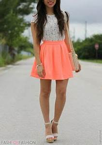 Flowy Skirt Outfits on Pinterest