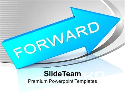 arrow moving  business growth powerpoint templates