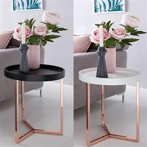 Couchtisch Set Rund : design beistelltisch give mit tablett abnehmbar 40 real ~ Whattoseeinmadrid.com Haus und Dekorationen