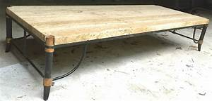 italian travertine bronze and enamel coffee table for With enamel coffee table