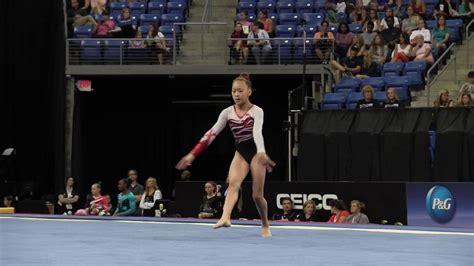 sunisa lee floor exercise  pg gymnastics