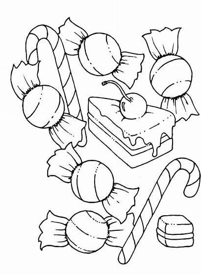 Coloring Pages Printable Chocolate Candy Candyland Factory