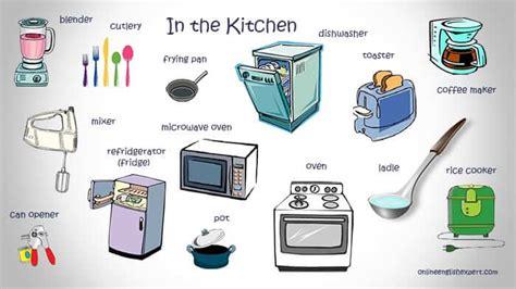 Kitchen Items Vocab by آموزشگاه زبان