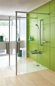 douche pour personne a mobilite reduite ooreka With porte de douche coulissante avec barre handicapé salle de bain