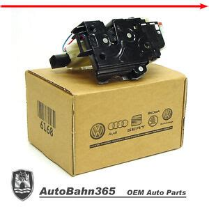 genuine oem vw  rear door lock actuator jetta