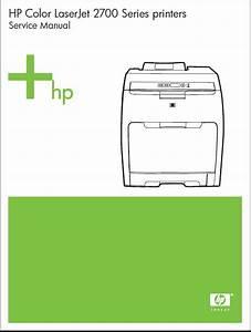 Color Laserjet 2700 Service Manual