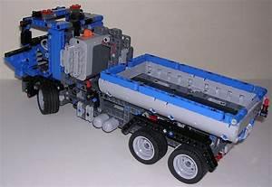 Lego Technic Camion : review lego technic 8052 camion benne ~ Nature-et-papiers.com Idées de Décoration