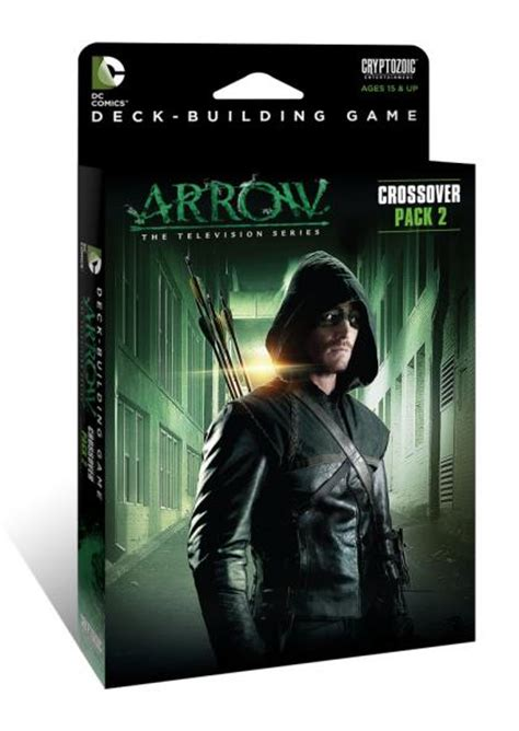 Dc Deck Building Expansion Release Date by Dc Comics Deck Building Crossover Pack 2 Arrow The