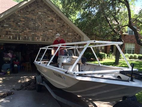 Homemade Duck Boat Blind Plans by 17 Best Boat Blind Ideas Images On Pinterest Boat Blinds