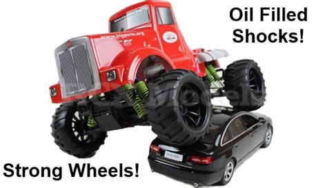 best nitro monster truck rc car monster truck nitro petrol radio remote control 1