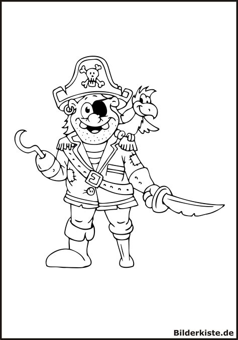 ausmalbilder pirat kostenlos malvorlagen zum ausdrucken