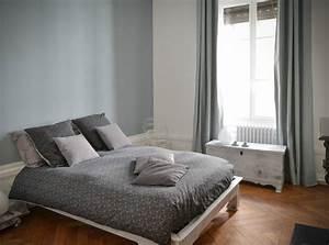 10 idees peinture pour chambre d39adulte With modele de chambre peinte
