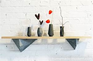 HomeMade Modern EP12 Faceted Concrete Hooks