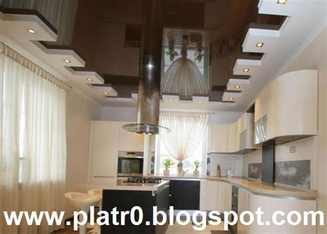 decor platre pour cuisine déco platre cuisine