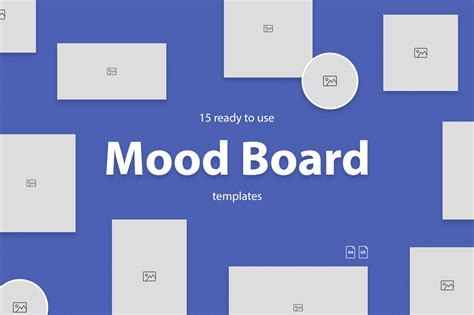 Mood Board Template Mood Board Templates By Web Donut Thehungryjpeg