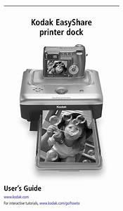 Kodak Easyshare Printer Dock User Manual Pdf Download