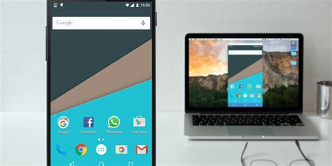 mirror  android screen   pc  mac  root
