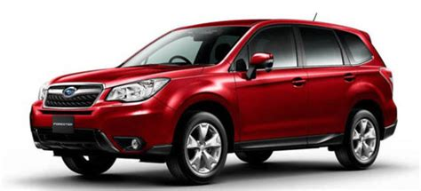 subaru forester red 2018 2018 subaru forester release date changes engine