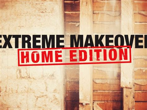 'Extreme Makeover: Home Edition' revival's premiere date ...