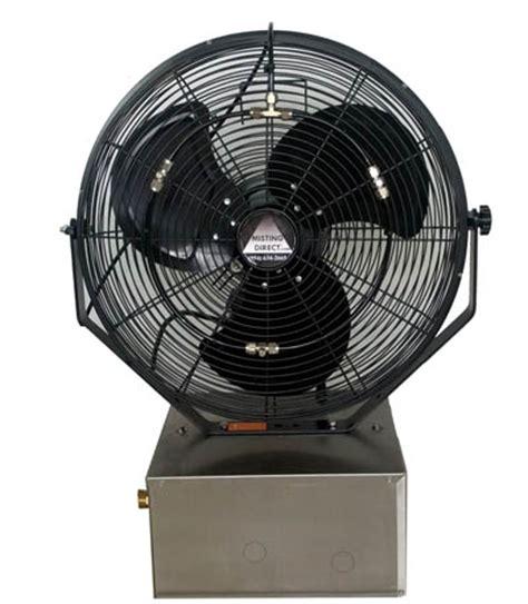 high pressure misting fan portable misting fan max vap high pressure compact