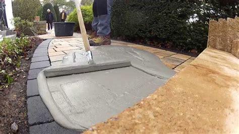 Sandstein Verfugen Material by Gartengestaltung Mit Dem Wasserundurchl 228 Ssigen Tubag